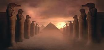 Compositing 3D with a matte painting