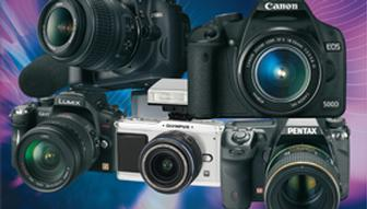 Digital SLRs with HD video