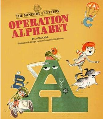 Operation Alphabet emulates 1960s chidren's book 'left in a drawer'