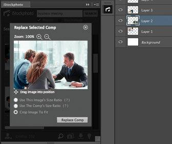 iStockphoto releases Illustrator, InDesign and Photoshop CS5/CS6 plug-in for quick comping of stock photos