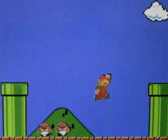 School kid makes Mario level stop-motion film out of paper