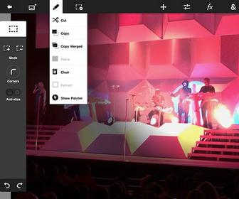 Adobe Photoshop Touch 1.4 made easier to use for iPad mini, Google Nexus 7