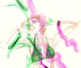 Fashion illustrator Erin Petson debuts new site