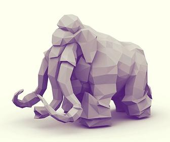 Inside Timothy Reynoldu0027s Low Poly Artworks