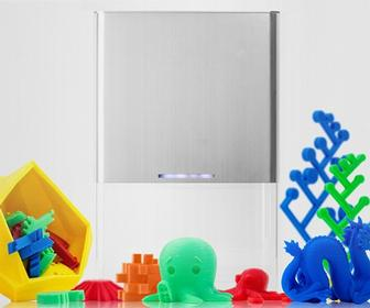 The Buccaneer is a cheap, Apple-styled 3D printer designed for anybody