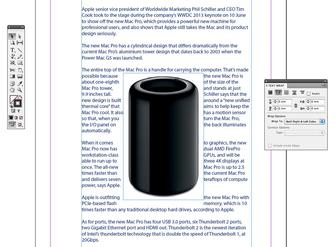 How to wrap text around an image in Adobe InDesign