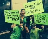 Oscars protesters want to escalate