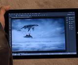 Photoshop CC update: Adobe shows touch version of Photoshop running on the Microsoft Surface Pro 3