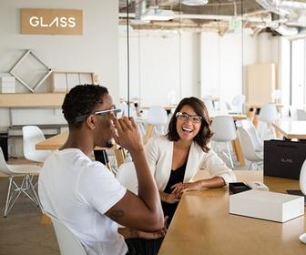 A bigger, faster Google Glass is headed for the workplace