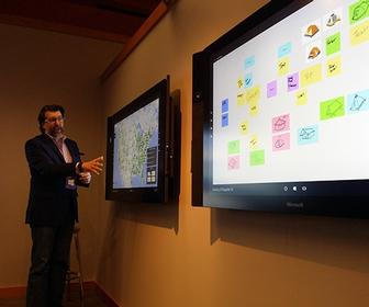 Microsoft's Surface Hub 84-inch 4K touchscreen collaboration tool delayed until 2016