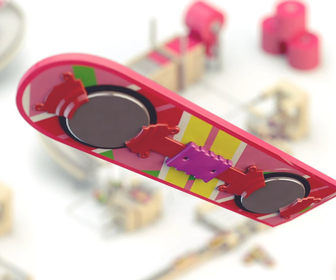 Animation reveals how Back to the Future II's hoverboards are made