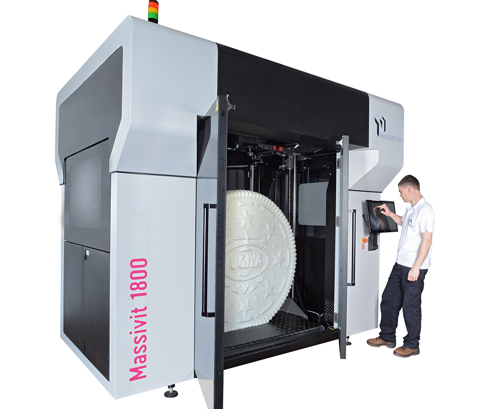 This 3D printer can print objects as tall as MC Hammer