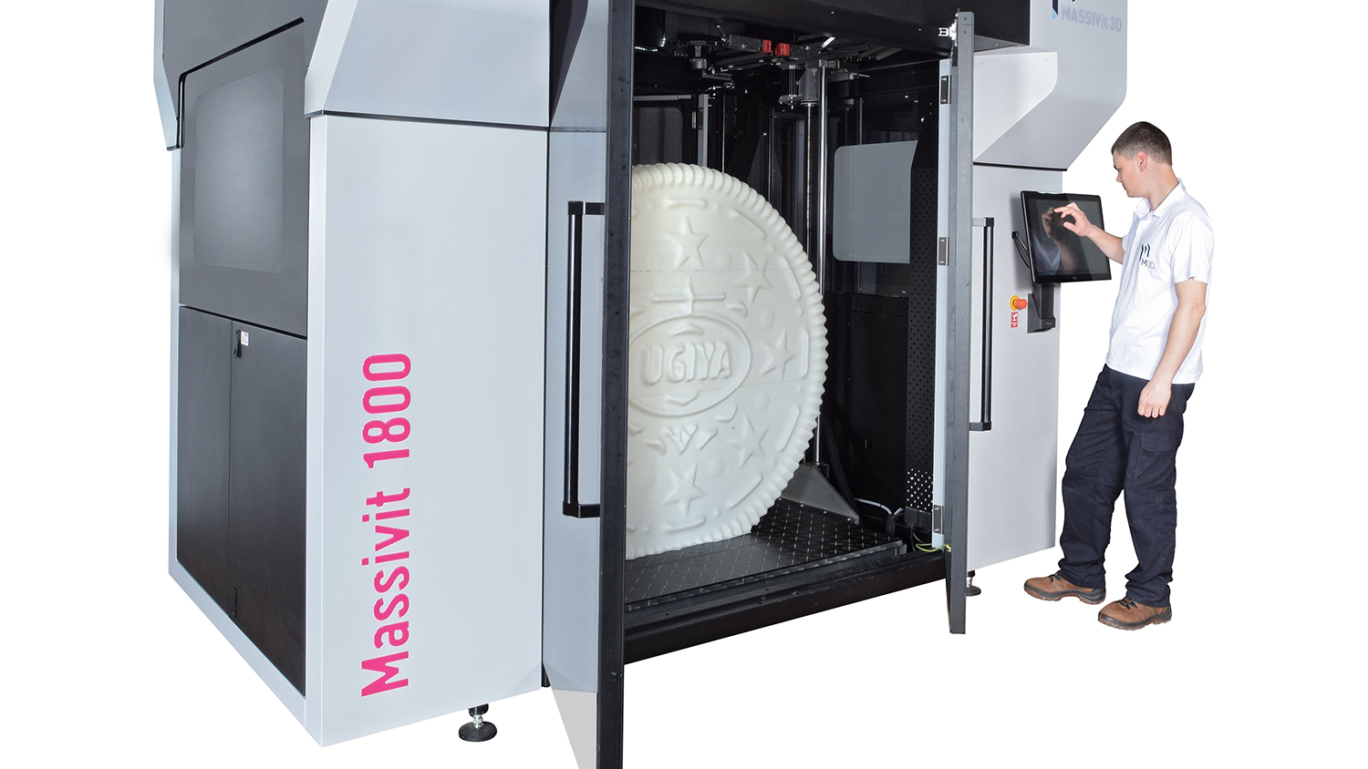 D Printing Exhibition Uk : This d printer can print objects as tall mc hammer