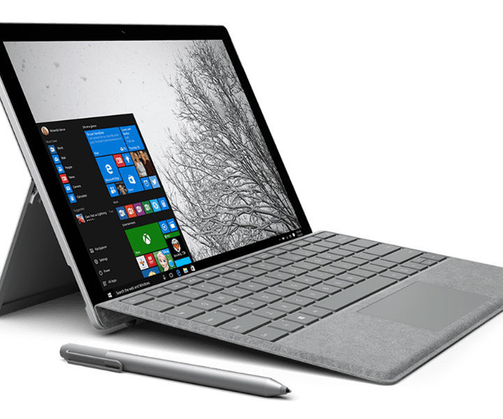 The Surface Pro 4 Type Cover gets fancy with premium Signature Edition