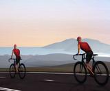Mill+'s animation for a charity bike ride reflects the struggle of cancer sufferers