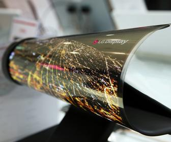 Screens that fold and roll will arrive as early as next year