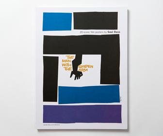 20 Classic Saul Bass Movie Posters Collected in Pull-out-and-Frame Poster Book