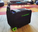 We rode (and raced) these motorised suitcases