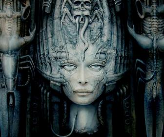 HR Gigers biomechanical surrealism revisited in epic monograph