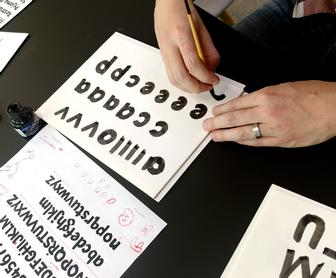 How a font is made in five days: Monotypes Font Marathon