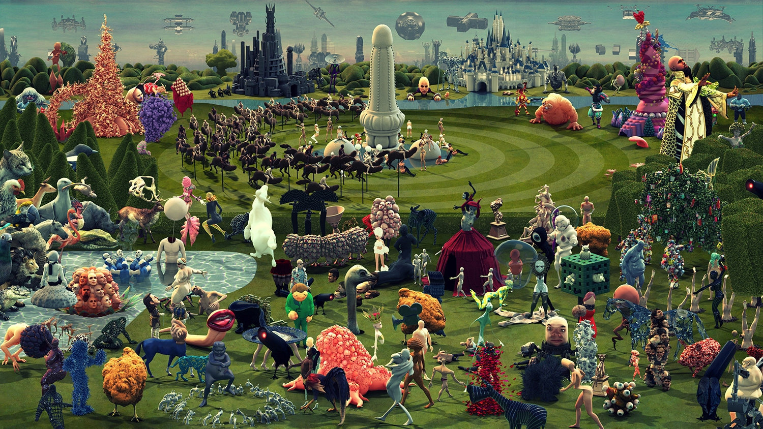 This Animated Version Of Hieronymus Bosch 39 S Painting Succeeds In Being Even More Weird