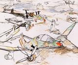 This inspiring exhibition pays tribute to the first female war artist