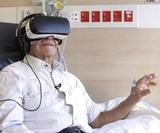 This project uses VR to alleviate the stress of cancer treatment