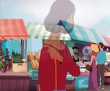 This animated short film tells a moving story of domestic violence for Refuge