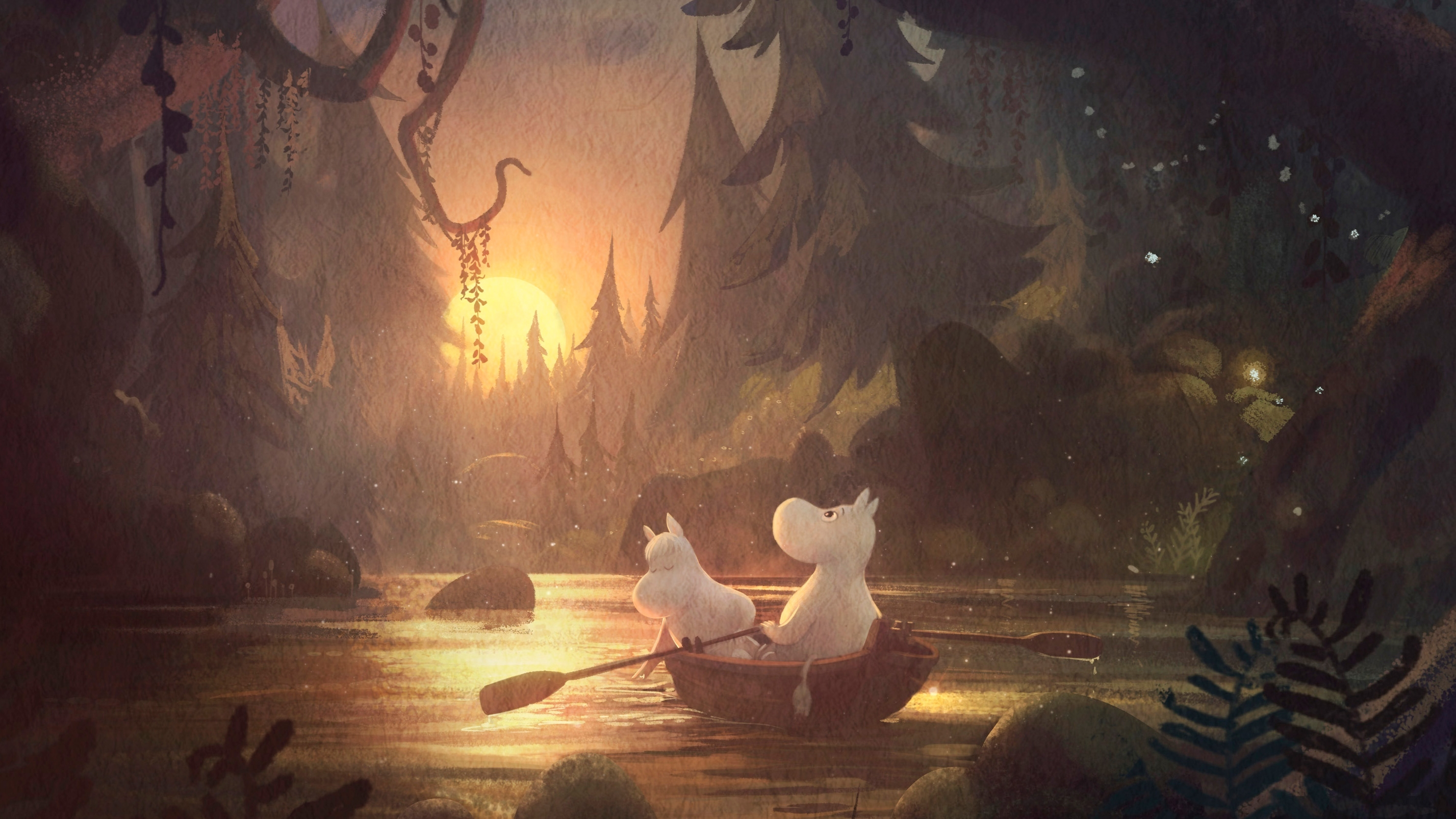 see the visual development for the new moomin animated tv series - features