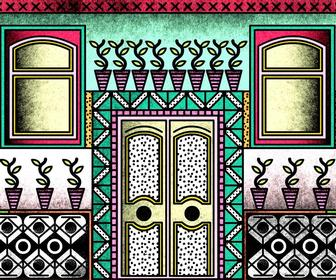 Animator Emanuele Kabu's psychedelic video is a stunning tribute to Lisbon city