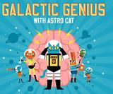 Illustrator Ben Newman's Professor Astro Cat is back in a new children's app about space