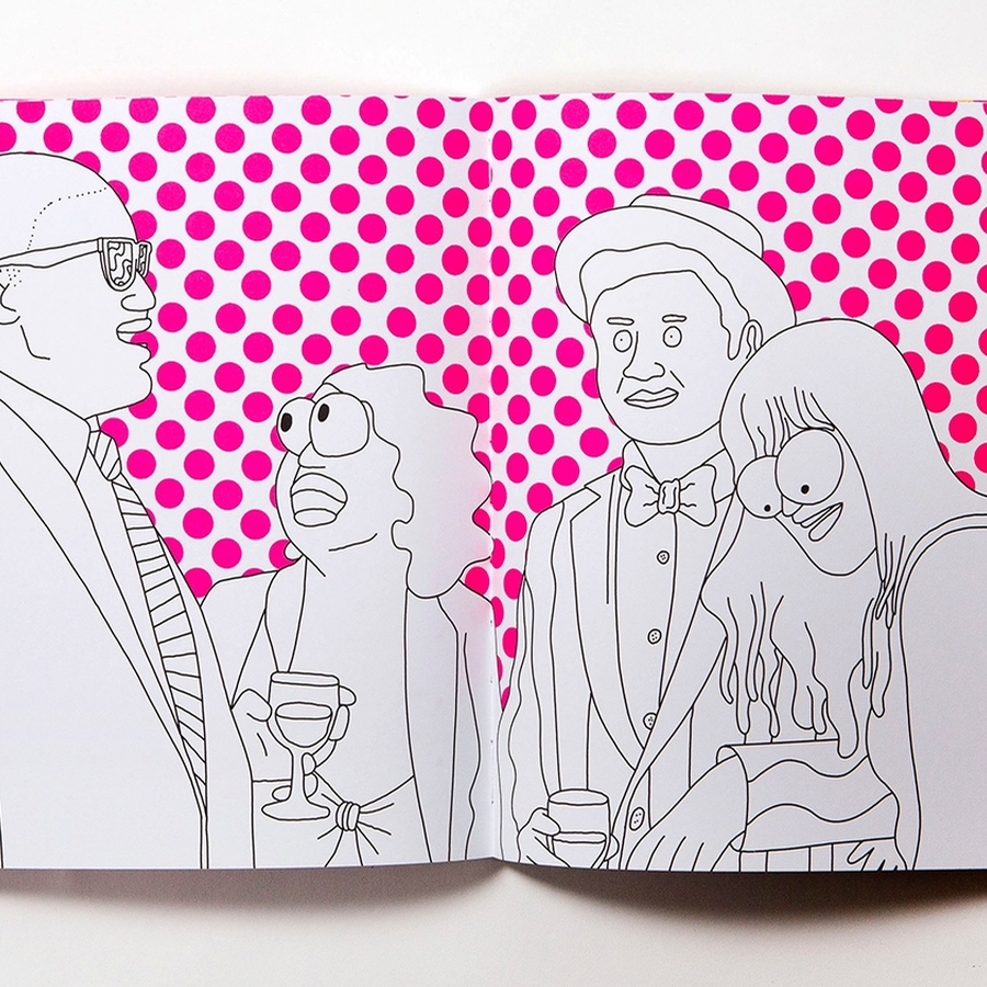 Artist Mike Perry S Broad City Colouring Book Is To Share With