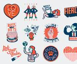 These fresh iMessage stickers from Ciara Phelan's Grand Matter seek to empower young woman