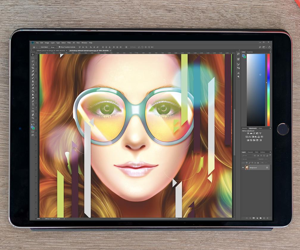 Adobe confirms it's working on a full Photoshop for the iPad
