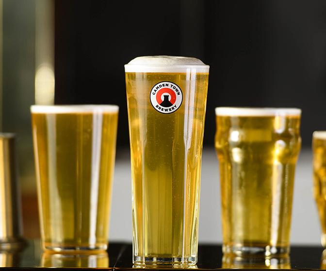 The humble pint glass is redesigned from bottoms up by design legend Sir Kenneth Grange