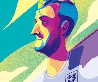Say farewell to a summer of sports with these athlete-inspired illustrations from Charlie Davis