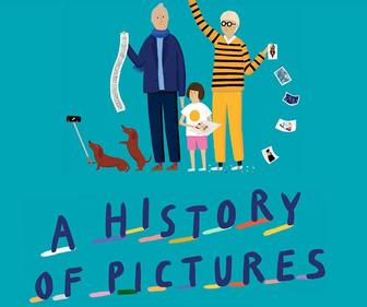 Illustrator Rose Blake gives a kid-friendly update for David Hockney's art guide A History of Pictures