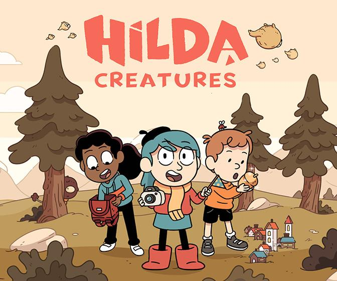 The makers of the new Hilda game on adapting Hilda for play while respecting the character's print roots