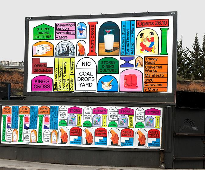 Alva Skog and other new art talent on branding their London neighbourhood for Coal Drops Yard