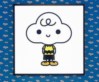 Artists FriendsWithYou reimagine Snoopy and Charlie Brown for a Peanuts London takeover