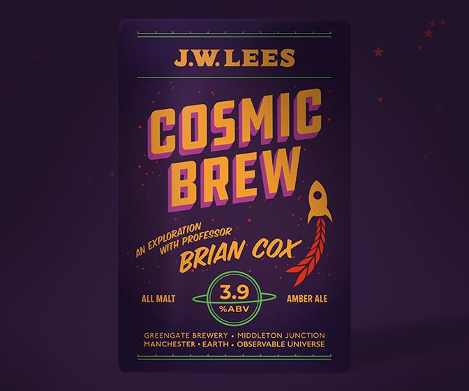 Brian Cox-branded beer brings Big Bang beauty to booze