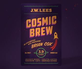 Brian Cox-branded beer brings Big Bang beauty to bottles