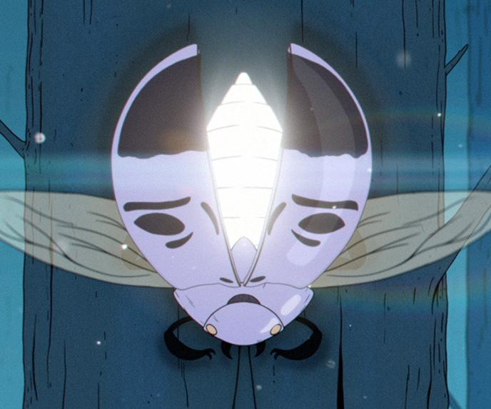 Robert Hunter talks animating his magical storybook style for a spaced out music video