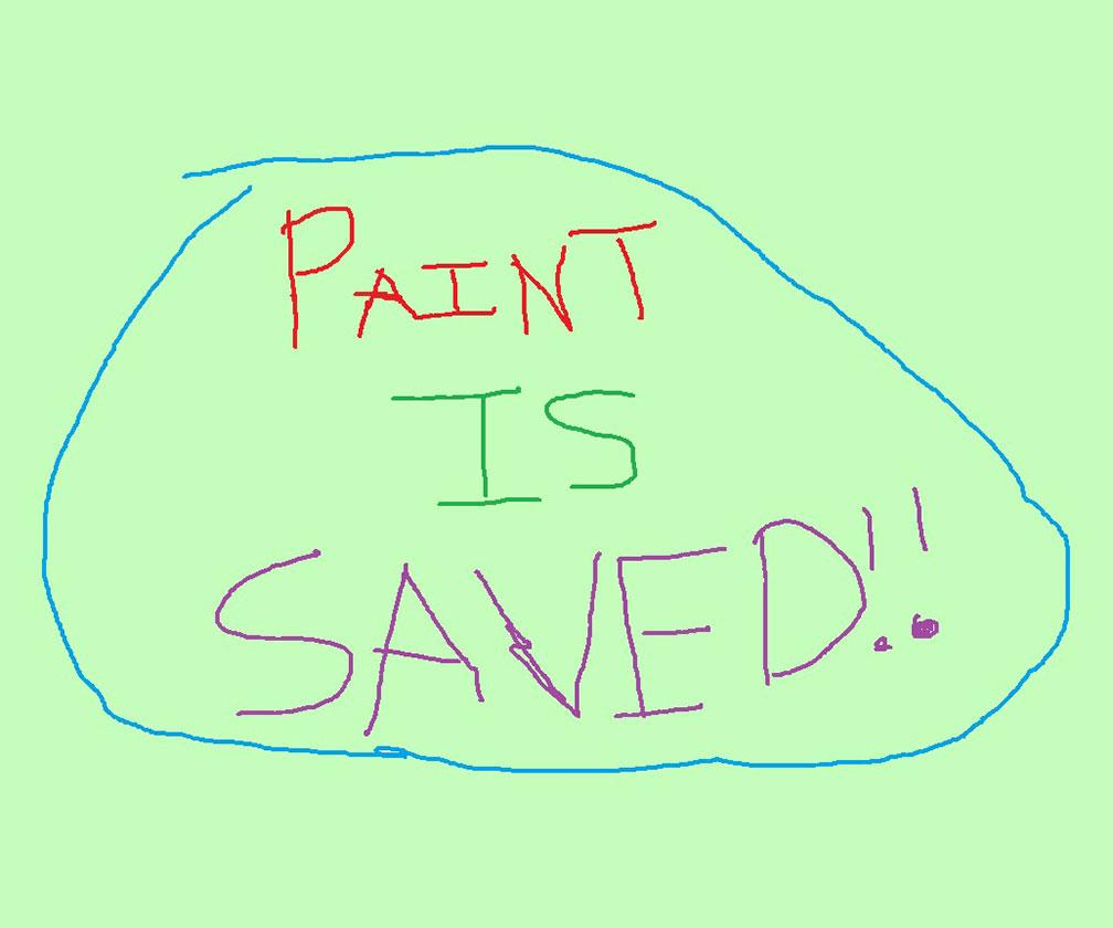 Microsoft Paint's not dead