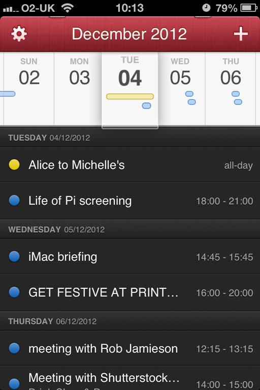 Fantastical review: a slickly designed calendar iPhone app