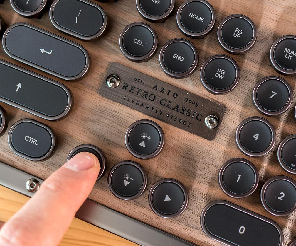 Azio Retro Classic review: This stylish, typewriter-like mechanical keyboard offers the best of the modern and old worlds