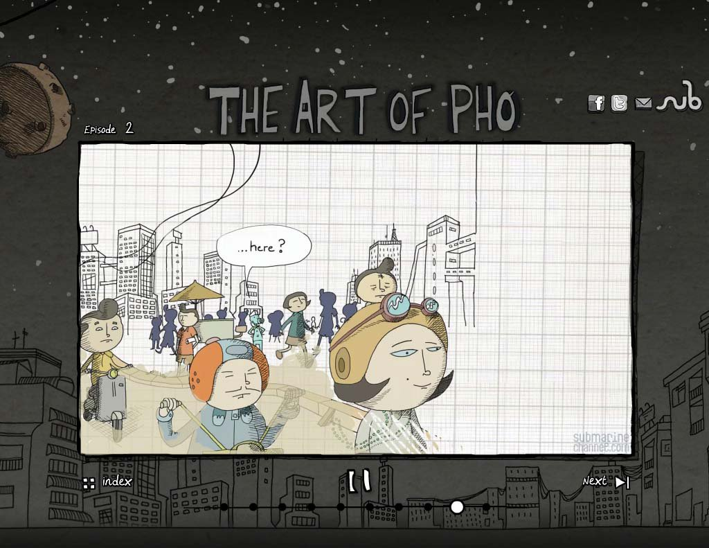 Phases Of The Graphic Novel's Transformation Into An Animation With  Interactive Elements, And Recalls The Many Different Approaches And  Techniques Used