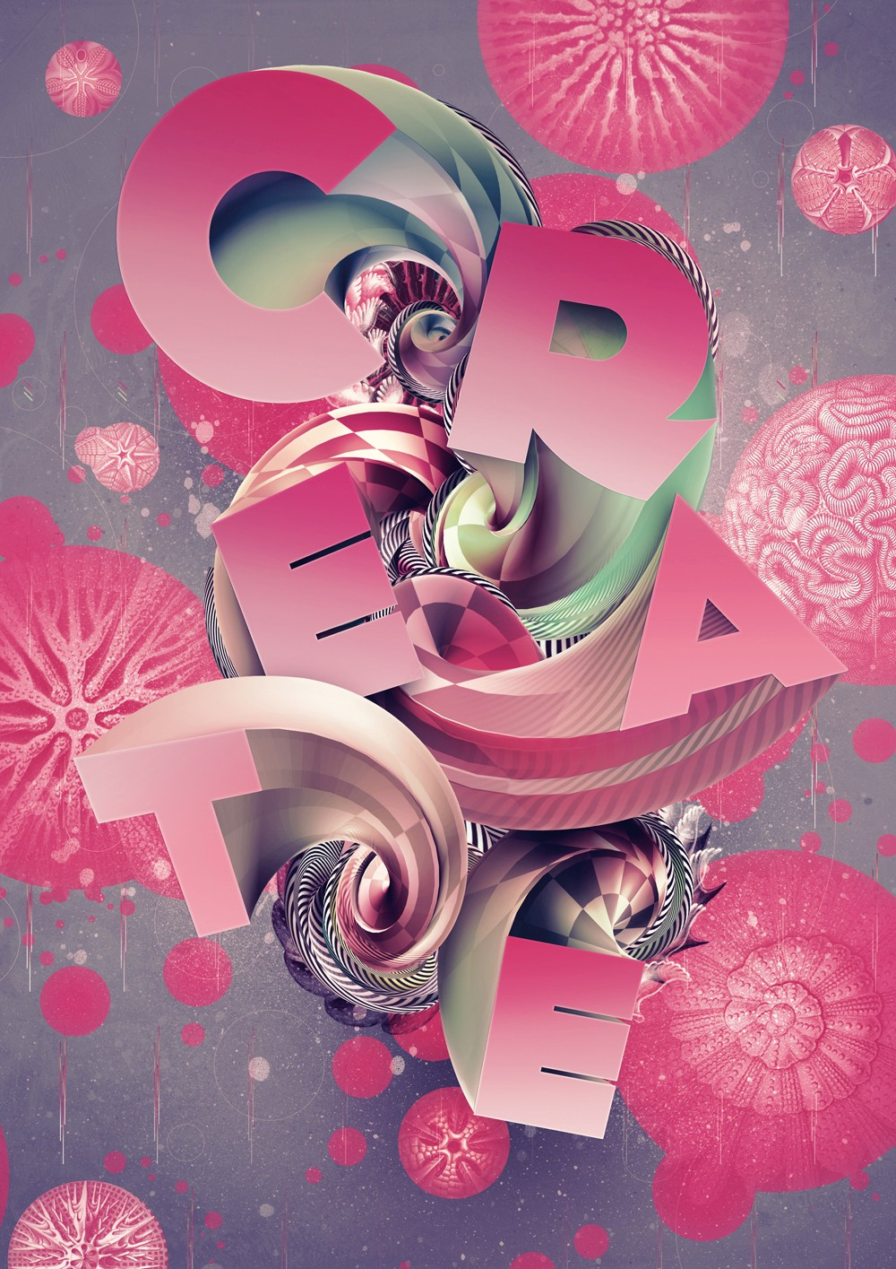 Photoshop tutorial create 3d type art using photoshop cs5 next step baditri Images