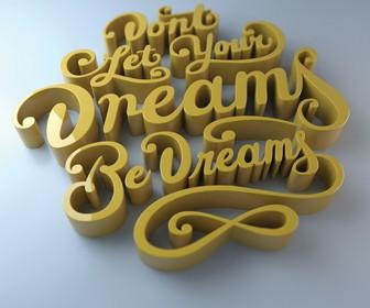 Learn the best ways to create 3D type