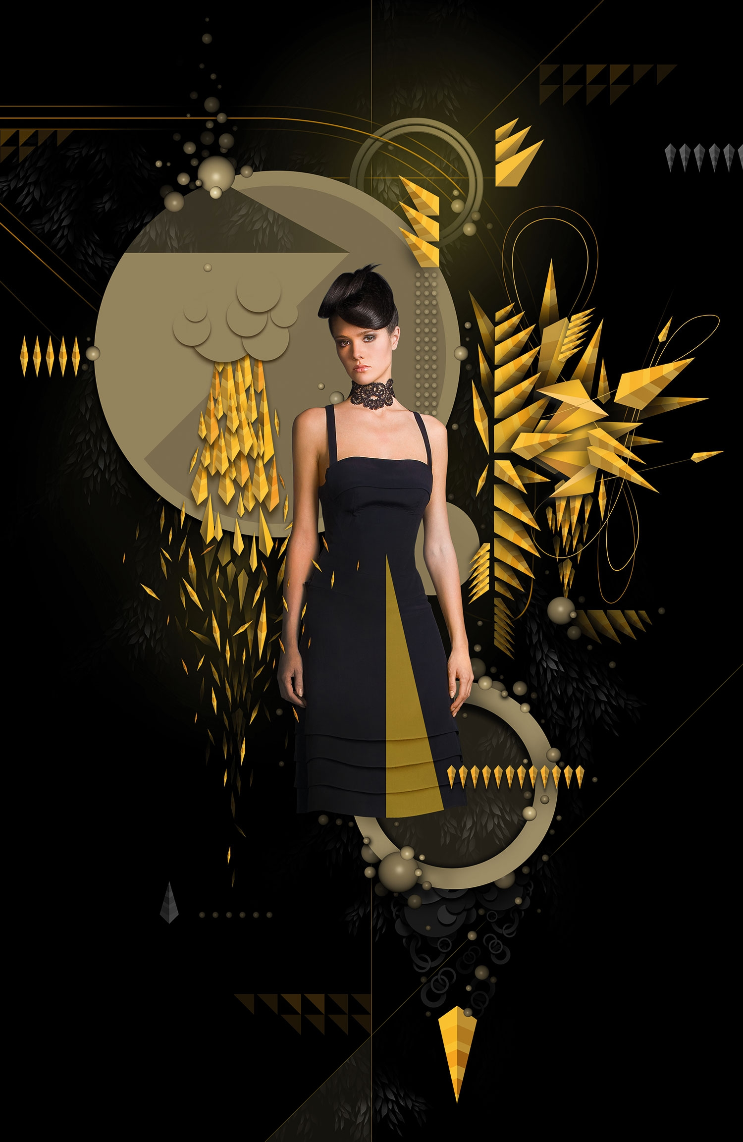 Adobe illustrator photoshop tutorial create a stunning mix of in this tutorial for photoshop and illustrator markie darkie shows you how to create a stunning photomontage youll master repetition and layering of baditri Image collections